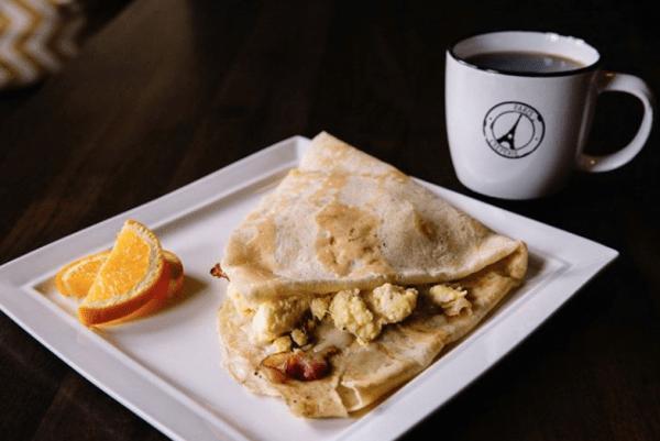 Paris Creperie, Brookline, Massachusetts, Food